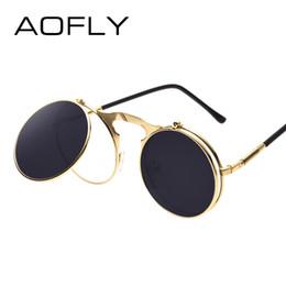 Cvoo Unisex Hipster Steam Punk Goggles Sunglasses Men Vintage Retro Steam Punk Sun Glasses For Women dsxx0MCxKy