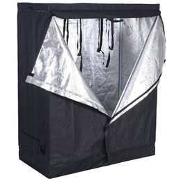 Chinese  48 x 24 x 60 Inch Indoor Grow Tent Room Reflective Non Toxic Hut manufacturers