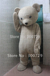 christmas movie characters costumes Canada - soft body bear mascot costumes character bear disguise