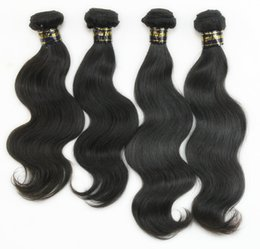 $enCountryForm.capitalKeyWord Canada - Brazilian Body Wave Weave Hair Unprocessed Virgin Human Hair Extensions Grade 6A Remy Hair 3pc lot Brazilian Virgin Hair