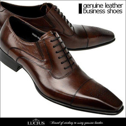 $enCountryForm.capitalKeyWord NZ - 2016 high-end dress shoes Leather skin business suits men pointed shoes wedding shoes Korean version of the British men casual shoes lace
