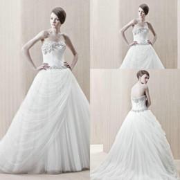 $enCountryForm.capitalKeyWord NZ - Western Style Wedding Dresses Shopping Cash On Delivery vestido branco de noiva curto Sweetheart Applique Tulle Bridal Gown