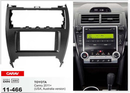 China CARAV 11-466 car 2DIN fascia facia panel plate frame for TOYOTA Camry (USA-version) Stereo Fascia Dash CD Trim Installation Kit supplier 2din kit suppliers