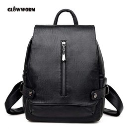$enCountryForm.capitalKeyWord Australia - GLOWWORM Fashion Women's Brand Elegant Backpacks High Quality Genuine Leather Women Backpack Pretty Style Girl's travel Bag