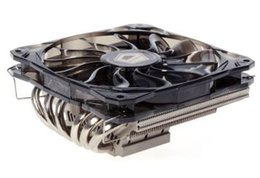 Motherboard Processors UK - Original new ID-COOLING 1 12cm PWM fan 6 heatpipes thin CPU cooler IS-60 for LGA115X 775 & AMD all sockets on ITX motherboards