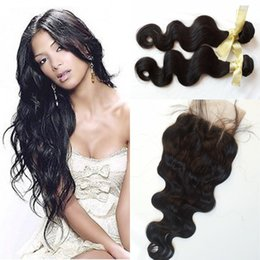 Hair tissage online shopping - G EASY Vietnamese Hair With Closure and Bundles body wave Hair With Closure Extensions Tissage Bresilienne Closure