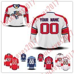 d94e84c5c63 Custom Florida Panthers Mens Womens Youth Home Away Red third royal blue  White Stitched Any Name Number Cheap Ice Hockey Jerseys S-4XL