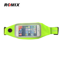 ROMIX RH101 Universal Screen Sports bag Waist Bag Elastic Waterproof Marterial para todos los teléfonos inteligentes en venta