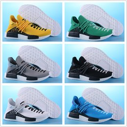 best womens running sneakers 2020 - 2018 Human Race Pharrell Williams Mens Online Wholesale Best quality Sports Cheap womens Running Shoes sneakers With Box