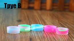 E protEction online shopping - E cigarette accessories silicon rubber band vape ring for mechanical mods decorative and protection vape mod resistance rubber vape bands