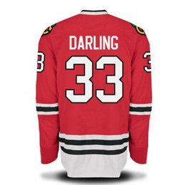... hottest blackhawks 33 scott darling jerseys red hockey wears top  quality ice hockey . ... 763862e0f