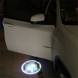 Discount strobe light case Case for dacia Case for MAN Car Logo LED Interior Lights Welcome Door Ghost Shadow Lamps 12V
