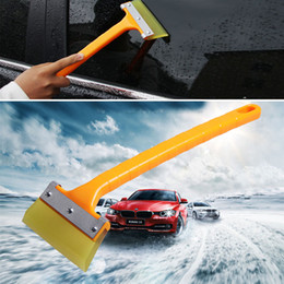 long handled shovels Australia - 1pcs High Quality Long Handle Car Snow Ice Shovel Scraper Glass Water Removal Clean Tool For Car Windshield