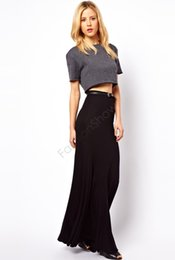 Discount High Waist Fitted Maxi Skirt | 2017 High Waist Fitted ...