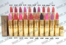 makeup factory lipstick 2019 - Factory Direct DHL Free Shipping New Makeup Lips M113 Metal Tube Matte Lipstick!3g discount makeup factory lipstick