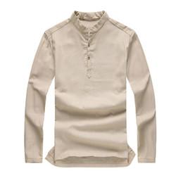 Mens Collarless Shirt NZ | Buy New Mens Collarless Shirt Online ...