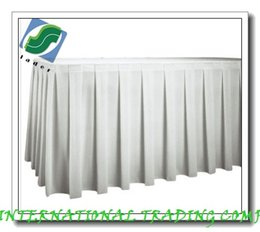 discount linen table cloths skirts 075m x 5m polyvisa table - Discount Table Linens