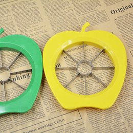 fruits dicer cutter Canada - Apple Pear Corer Slicer Peeler Easy Cutter Cut Fruit Knife Kitchen Dicer Tool