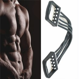 $enCountryForm.capitalKeyWord Canada - Portable Indoor Sports Supply Chest Expander Puller Exercise Fitness Resistance Cable Rope Tube Yoga 5 Resistance Bands