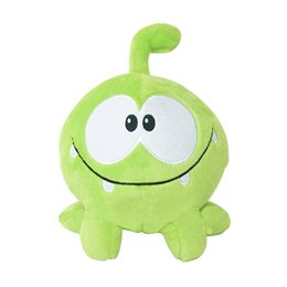 """$enCountryForm.capitalKeyWord Australia - 1PC Kawaii 7""""20cm om nom frog plush toys cut the rope Soft rubber cut the rope figure classic toys game lovely gift for kids"""