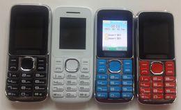 Mini Phone Dual Sim Canada - 1.77 Inch Slim Mini Mobile Phone W1 L1 Quad Band Dual SIM Card Dual Standby MP3 Camera FM Radio Bluetooth Elder Cell Phone 00020
