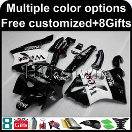 $enCountryForm.capitalKeyWord Australia - 23colors+8Gifts Aftermarket ABS Fairing motorcycle cowl For Kawasaki ZX-6R 1994-1997 ZX6R 94 95 96 97 west black Motorcycle Body Kit