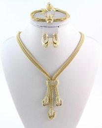 Nueva Llegada de la Cadena de la Serpiente Rhinestone de Cristal de Oro / Plateado Collar Pulsera Conjunto de Joyas Últimas Accesorios de Boda de Dama de honor India en venta