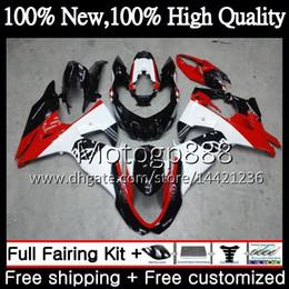 $enCountryForm.capitalKeyWord Australia - Fairing Bodywork K9 For SUZUKI GSX-R1000 GSXR 1000 09 10 11 12 13 15 33PG12 GSX R1000 Red white K9 GSXR1000 2009 2010 2011 2012 2014 2015