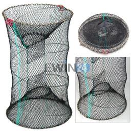 Crab Trap Bait Canada - Crab Crayfish Lobster Catcher Pot Bait Trap Fish Net Eel Prawn Shrimp Live Bait Hot Selling