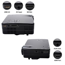 Projectors For Videos Canada - LED Video TV Beamer Projector for Home Theater Cinema Multimedia Player with HDMI  AV VGA SD USB Portable Led TV Projectors