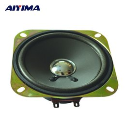 $enCountryForm.capitalKeyWord Australia - Wholesale- AIYIMA 2pcs 4 inch 4 ohm 25 watt speakers bulb edge PP basin car horn power louderspeaker