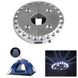 $enCountryForm.capitalKeyWord Canada - 28 LEDs Outdoor Patio Umbrella Pole Light Camping Tent Lamp Pole Mounted or Hung, Battery Operated Portable Lamp Silver Patio Light