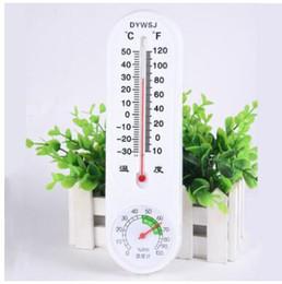 Toptan satış Bebek Termometre Higrometre Çok kullanımlı Isı Göstergesi Humidiometer Ev Çocuk Odası Çalışma Alanı Için Depo Çiftlik Çocuk Ürünl ...