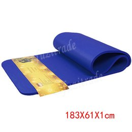 shipping 10mm thicken eva foam exercise yoga mat outside home gym waterproof flooring sport fitness mats 18361cm aka00120c supplier foam