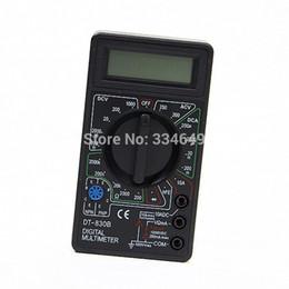 Ac Voltmeter Tester Canada - Professional Digital Multimeter DT830B AC DC Ammeter Voltmeter Ohm Electrical Tester Meter Best Selling