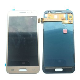 $enCountryForm.capitalKeyWord Canada - NEW LCD Display Touch screen Digitizer Replacement For Samsung Galaxy J2 2016 J200 J200F J200Y Not Adjusted Gold Black White DHL logistics