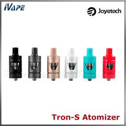 Atomizer for evic online shopping - 100 Original Joyetech Tron S Atomizer Tron S Tank ml V Shaped Side View Atomzier For eVic VTC Mini W Mod