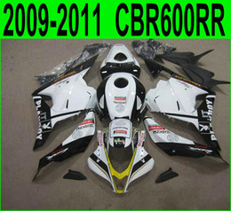 $enCountryForm.capitalKeyWord NZ - Injection molding ABS Fit for Honda CBR600RR fairing kit 2009 2010 2011 black white PLAYBOY fairings CBR 600RR 09 10 11 YR55