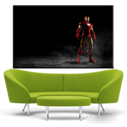 1 Pcs Superhero Moie Iron Man Art Prints On Canvas For Living Room Home Decoration Oil Painting No Frame