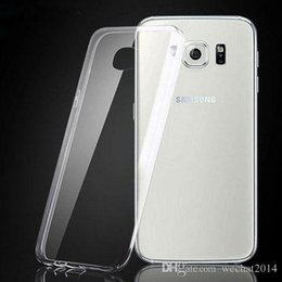 TransparenT back galaxy s5 online shopping - 1000PCS Transparent TPU Gel Crystal Clear Ultra Thin mm Clear Soft Back Case Cover Skin for Samsung Galaxy S3 S4 S5 S6 Edge S7 Edge