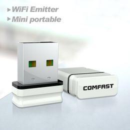 Comfast Wifi Usb Adapter Canada - Comfast adaptador wi-fi CF-WU810N receptor wifi usb wi-fi adapter wifi access point wifi RTL8188EU chipset wireless wifi dongle