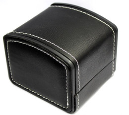 Luxury Display Cases Canada - New Luxury Gift Boxes PU Leather Watch Storage Display Case Box 11*11CM