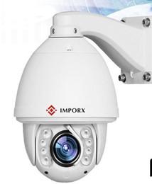 Синий ирис камеры IP камеры IMPORX 20-кратным оптическим зумом ИК 150M высокоскоростной купольной полный hd1080p автоматического слежения PTZ-камеры IP-камеры