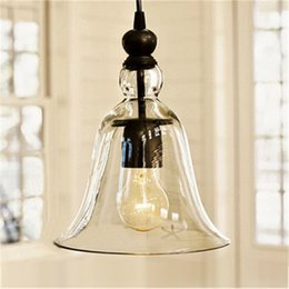 $enCountryForm.capitalKeyWord NZ - HOT Modern Antique Vintage Style Glass Shade Tom Ceiling Light LED edison chandeliers ceiling lamps Fixture Bedroom High Quality E27 bl-010