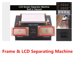 s4 bezel Canada - LCD Screen Separator Machine Built in Vacuum Pump Middle Bezel Frame Separator For Samsung Galaxy s2 S3 S4 S5 note 1 2 3 4 S3 s4 mini