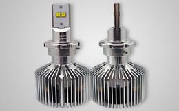 xenon kit h4 2019 - 1 Set D1   D2  D3  D4 90W LUMILED Headlight Single Beam 9000lm LUXEON MZ CHIPS 4LED Xenon White 6000K 12 24V 45W Bulb 45