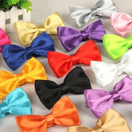 $enCountryForm.capitalKeyWord Canada - 30 colors Man Women Bow Ties Neckwear bowties Wedding Bow Tie solid Neck Tie for business suit Christmas gift 210042