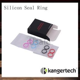 Silicone nano ringS online shopping - Kangertech Colorful Silicone Seal O Ring Set For Kanger Subtank Plus Atomizer Sutank Mini Sutank Nano Clearomizer O Rings Set Original