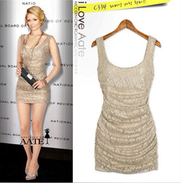 $enCountryForm.capitalKeyWord Canada - Khaki Sexy Lace Fitted Night Out Club Dresses New Fashion Scoop Neckline Sleeveless See Through Club Dresses Cheap Wholsale Available