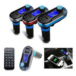 $enCountryForm.capitalKeyWord Canada - Car FM Transmitter BT66 Bluetooth Car Kit With Mic Handsfree Car Speaker Audio MP3 Music Player Radio Adapter with Remote Control